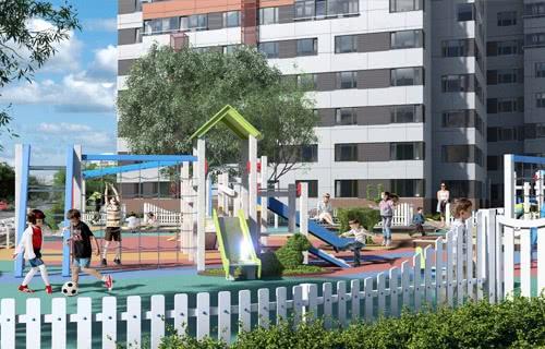 18 сентября состоится торжественное открытие детской спортивной площадки в ЖК «Альфа Центавра»