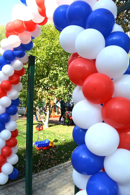 Торжественное открытие детской спортплощадки на территории строящегося ЖК «Альфа Центавра»
