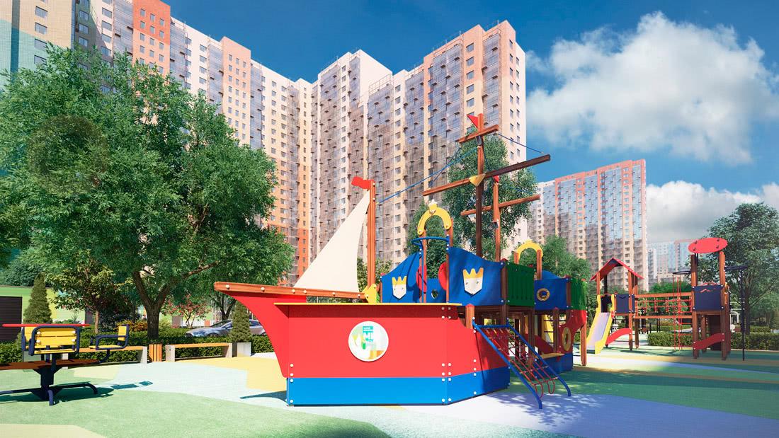 ЖК «МИР Митино» - первый семейный квартал в Москве